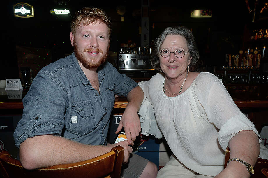 Tack Somers and Robbin Jones were at the Logon Cafe in Beaumont Friday night. 