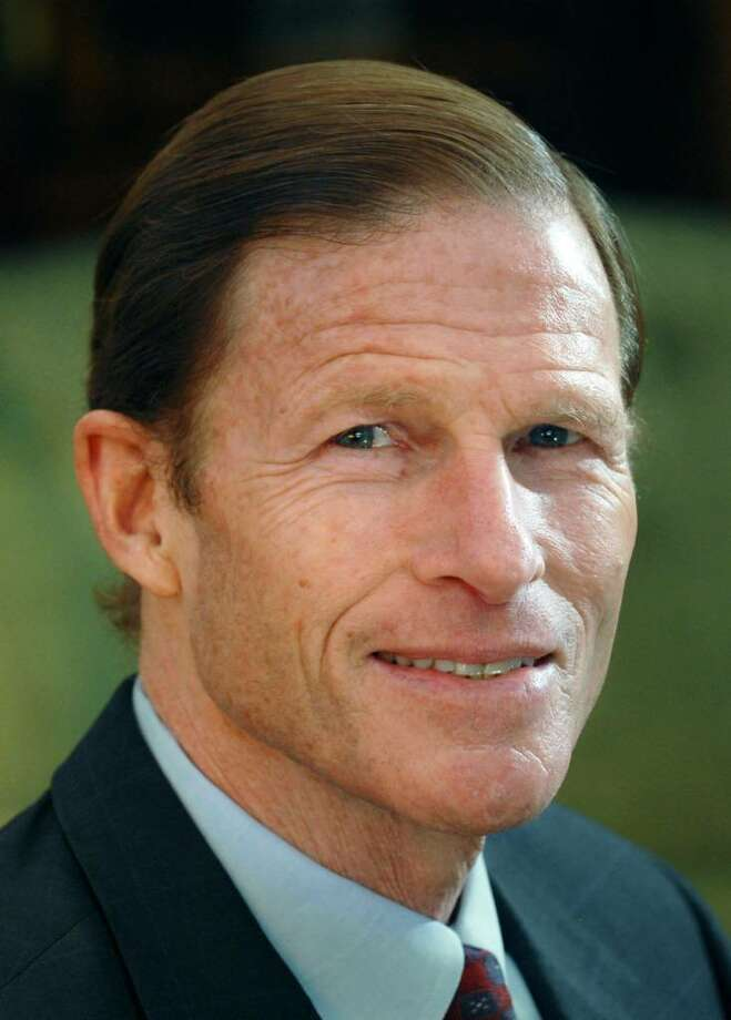 Connecticut Attorney General, Richard Blumenthal, a democrat, is running for the U.S. Senate seat vacated by Christopher Dodd. Photo: Bob Luckey / Stamford Advocate