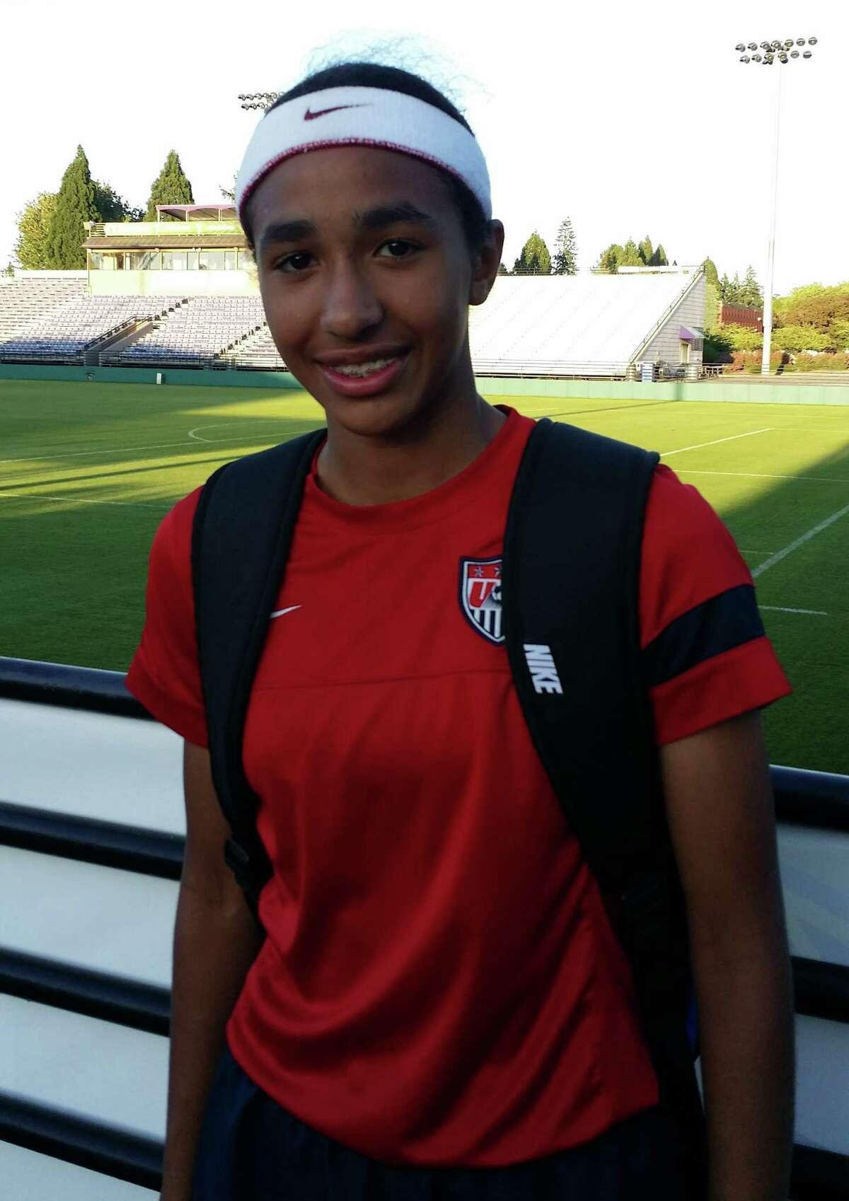Jennifer Bartlett of Guilderland High School played for Under-15 Girls National Team