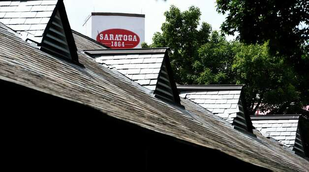 The Saratoga Race Course is preparing for opening day Wednesday afternoon July 15, 2015 next Friday in Saratoga Springs, N.Y.      (Skip Dickstein/Times Union) Photo: SKIP DICKSTEIN / 00032626A