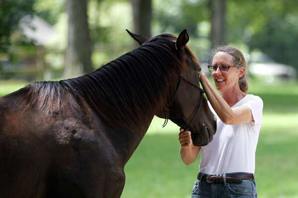 Donna Stedman is the founder and executive director of  Henry's Home, which she describes a horse and human sanctuary in Spring. Some neighbors contend the nonprofit business is violating deed restrictions.