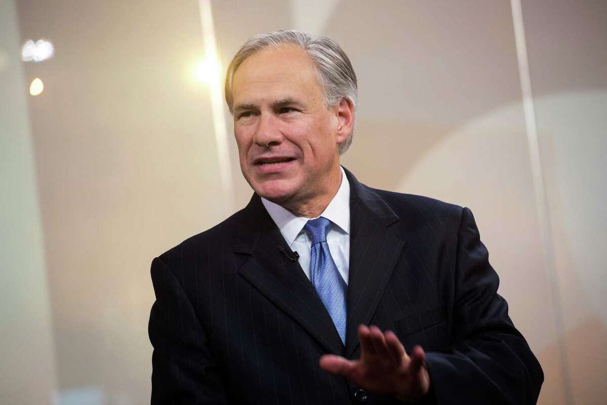 Greg Abbott, governor of Texas, speaks during a Bloomberg Television interview in New York, U.S., on Tuesday, July 14, 2015. Like Rick Perry before him, Gov. Greg Abbott isn't charging state taxpayers for the direct cost of his out-of-Texas trips but they still pick up the tab for his security detail. According to the latest quarterly report from the Texas Department of Public Safety, obtained Tuesday, the cost for Abbott's security detail for the three-month time period was $72,158.83 Photographer: Michael Nagle/Bloomberg *** Local Caption *** Greg Abbott