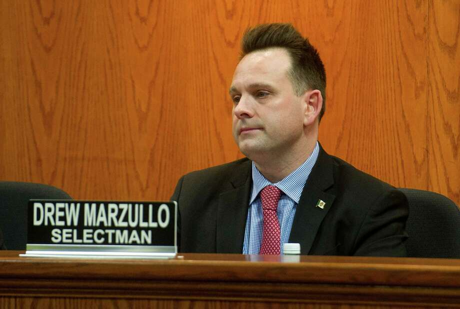Selectman Drew Marzullo Photo: Lindsay Perry / Lindsay Perry / Stamford Advocate