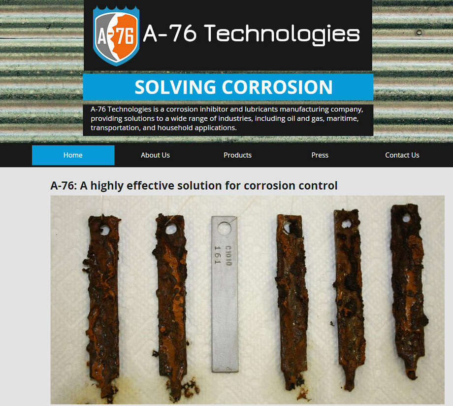 Company: A-76 TechnologiesSector: EnergyFounded: 2014Website: www.a76tech.comWhat they do:Creates an anti-corrosion coating and lubricant to prevent rust.