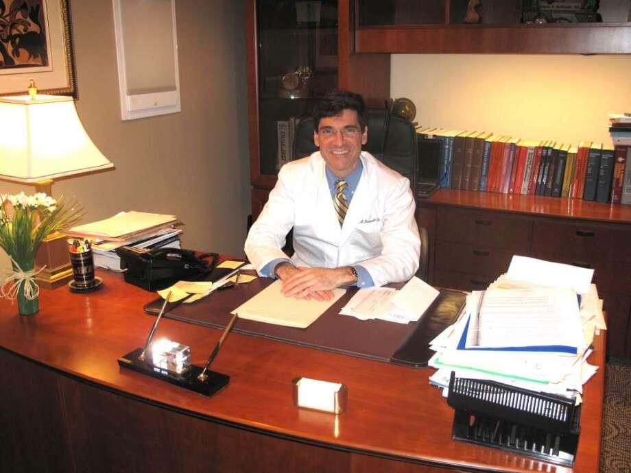 Darien Dr. Denis Bouboulis has ganed national recognition as an expert on a rare pediatric disease. Photo: Maggie Gordon / Darien News