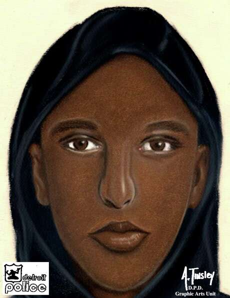 A sketch provided by the Detroit Police Department shows one of several suspects who allegedly robbed young couples in separate attacks in Detroit Thursday, July 16, 2015 and gang-raped the women while forcing their male victims to watch. The attacks happened Thursday night along the same major east-west street on Detroit's northwest side, police said, and in both cases, the attackers had handguns. (Detroit Police Department via AP) Photo: Administrator, HOGP / Associated Press / Detroit Police Department