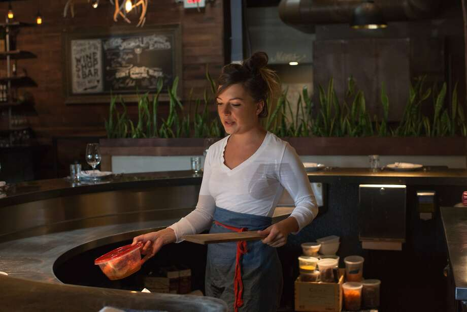 Julie Simon, the chef at Foremost in San Luis Obispo. Photo: Randi Lynn Beach, Special To The Chronicle