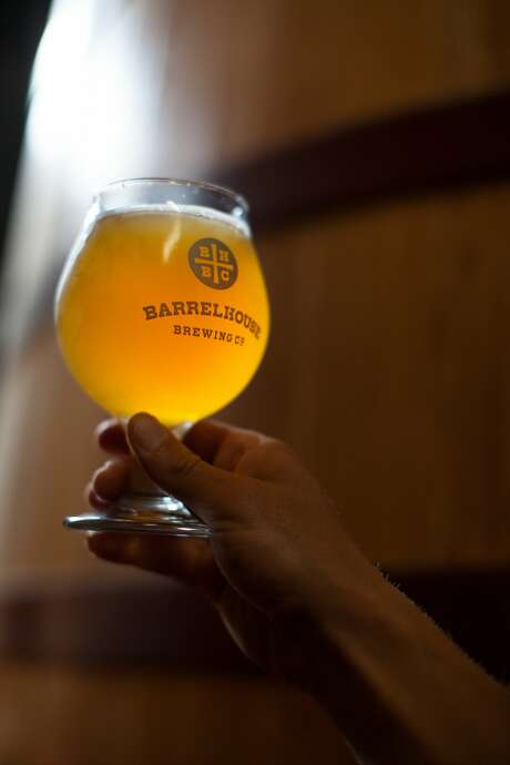 This is Sunny Daze, clementine citrus ale, at BarrelHouse Brewing Co. in Paso Robles, Calif., Friday July 17, 20015. (photo by Randi Lynn Beach) Photo: Randi Lynn Beach, Special To The Chronicle