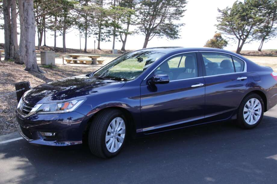 The 2015 Honda Accord EX-L. At $30,985 (including shipping), our test model was near the high end. The price for an Accord ranges from  approximately $22,000 (the base LX model) to nearly $34,000 for the Touring edition.