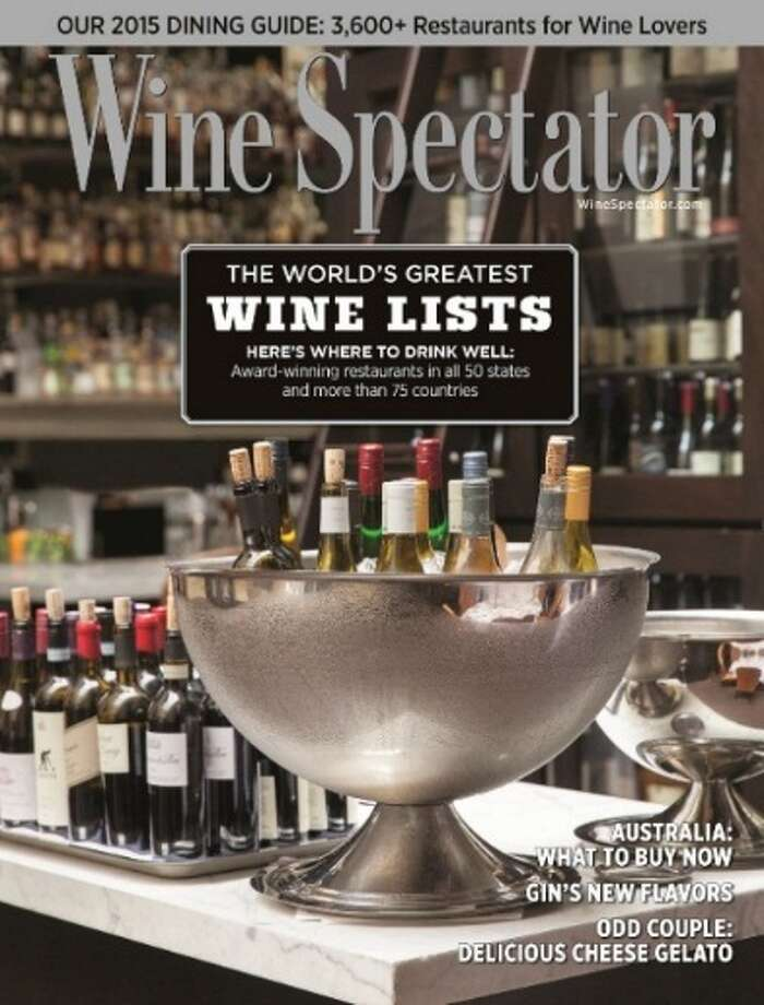 19 restaurants in the 518 area were honored in this year's Wine Spectator's Restaurant Wine List Awards. Click through to see which regional restaurants have some of the best wine lists in the world. Photo: Wine Spectator