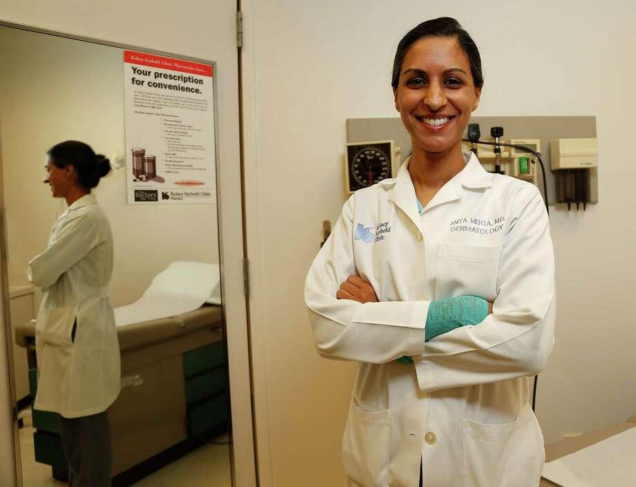 "Dr. Anita Mehta says, ""Tanning your skin, no matter how you do it, is dangerous. Photo: Karen Warren, Staff / © 2015 Houston Chronicle"