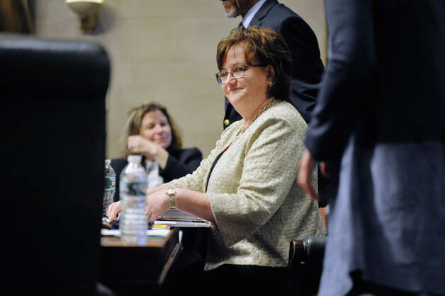 New York State Education Commissioner MaryEllen Elia takes part in her first Board of Regents meeting on Monday, July 20, 2015, in Albany, N.Y.   (Paul Buckowski / Times Union) Photo: PAUL BUCKOWSKI, Albany Times Union