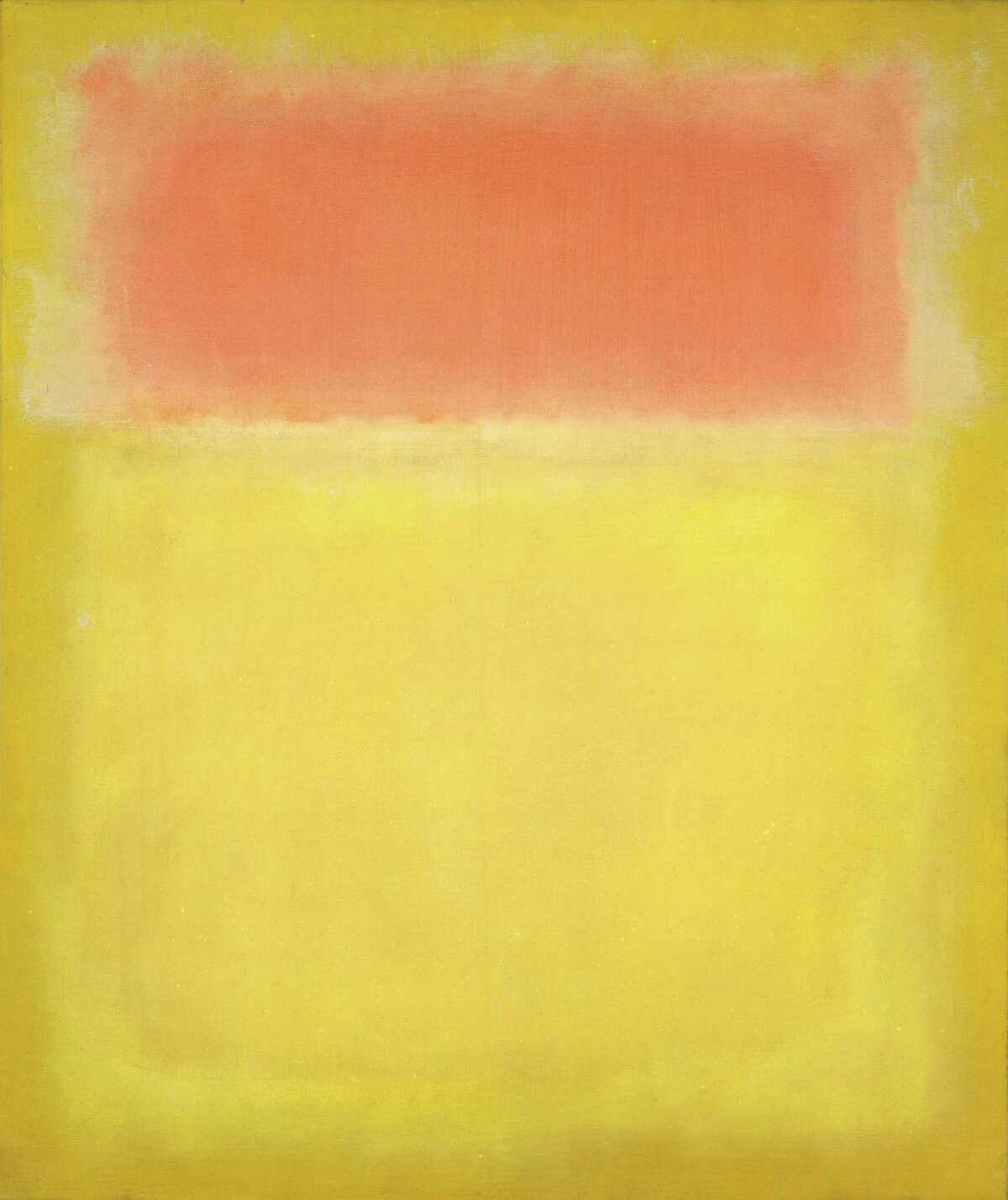 """Among works that will be on view Sept. 20 - Jan. 24 in the exhibition """"Mark Rothko: A Retrospective"""" at the Museum of Fine Arts, Houston is this untitled canvas from 1951 (oil on canvas, National Gallery of Art, Washington, Gift of The Mark Rothko Foundation, Inc. Â 1998 by Kate Rothko Prizel and Christopher Rothko)"""