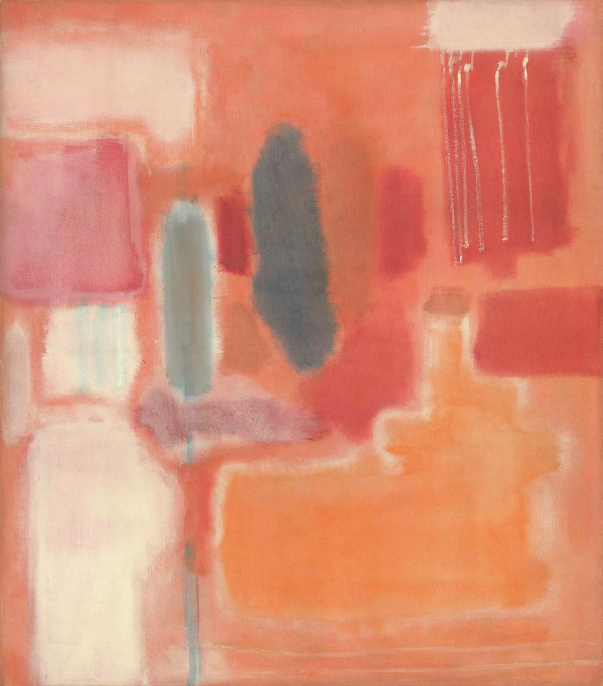 """Among works that will be on view Sept. 20 - Jan. 24 in the exhibition """"Mark Rothko: A Retrospective"""" at the Museum of Fine Arts, Houston is """"No. 9"""" (1948, oil and mixed media on canvas, National Gallery of Art, Washington, Gift of The Mark Rothko Foundation, Inc. Â 1998 by Kate Rothko Prizel and Christopher Rothko)"""