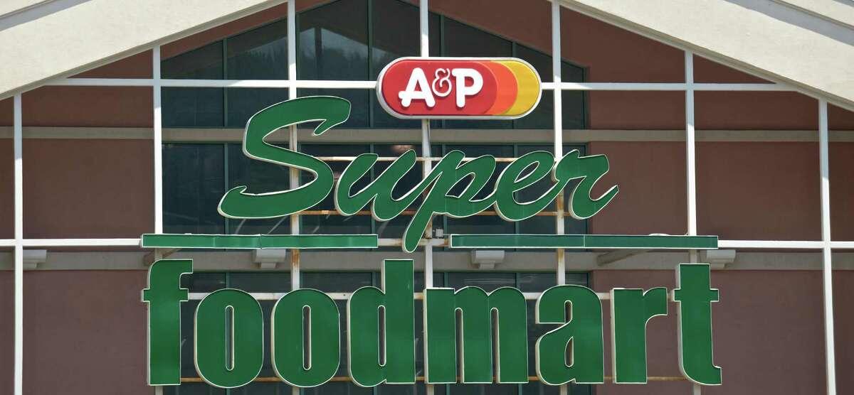 A&P Super Foodmart in the Danbury Shopping Center, 1 Padanaram Road, Danbury, Conn, on Monday, July 20, 2015.