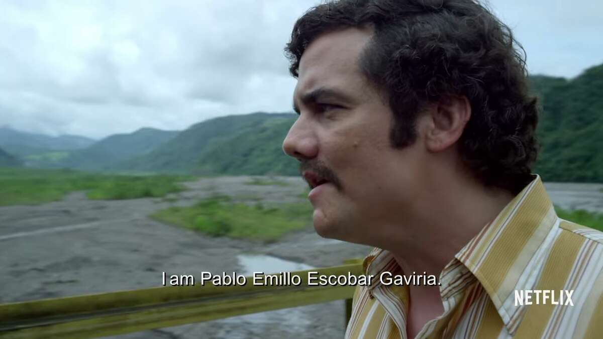 TV SHOW: Narco (not yet released) Cartel/Narco mentions: Netflix's next original series will be about the life of Latin American drug lord, Pablo Escobar who profited tremendously off of the sale and distribution of cocaine. One news site, CoCreate, called the recent release of the show's trailer a