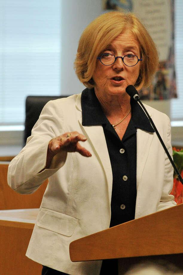 Stamford Schools Superintendent Winifred Hamilton. Photo: Jason Rearick / Hearst Connecticut Media / Stamford Advocate