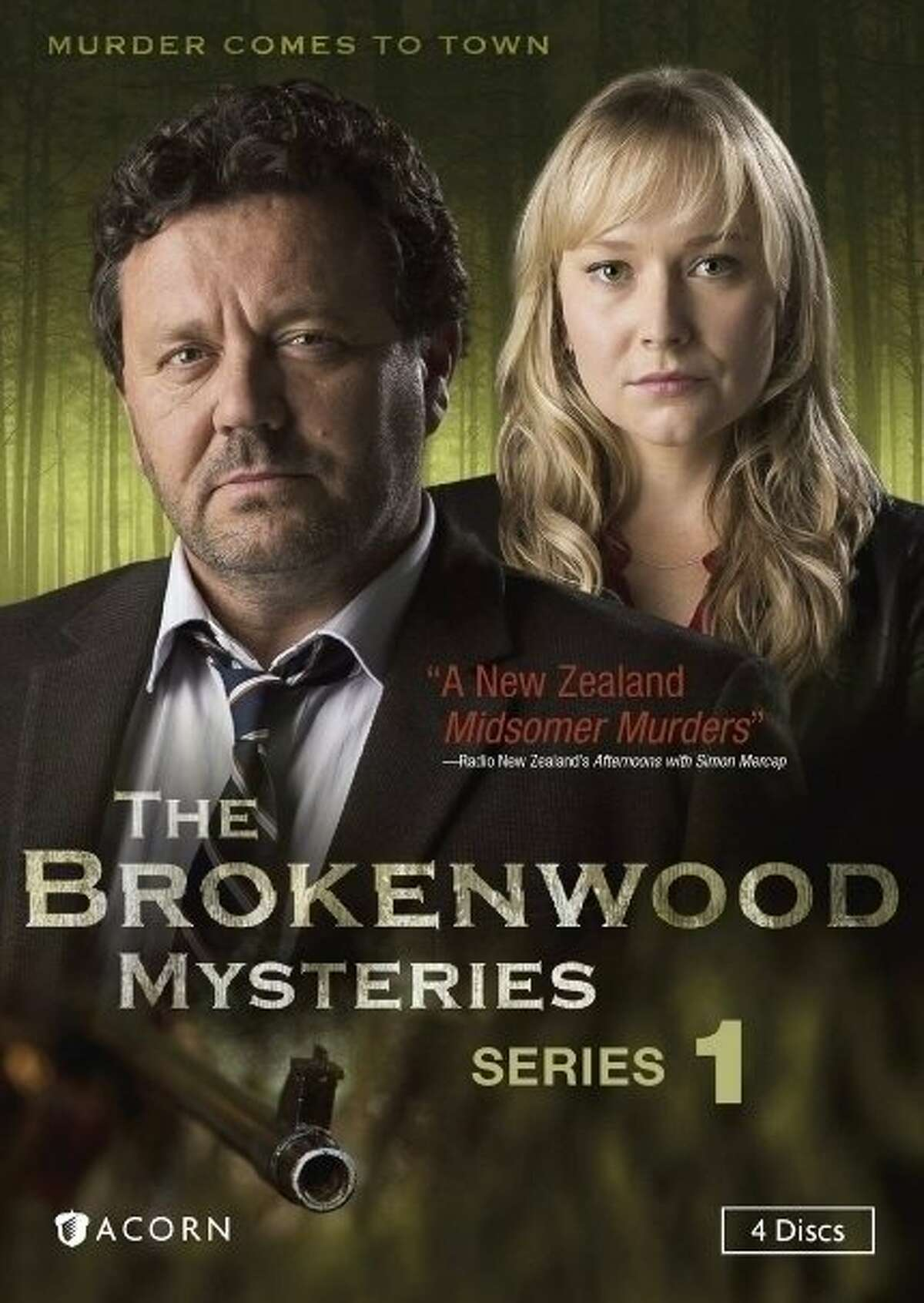 dvd cover: The Brokenwood Mysteries: Series 1