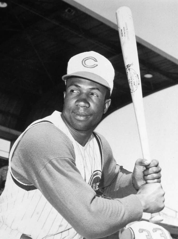 Frank Robinson poses for a batting portrait in Cincinnati about 1960. Photo: Mark Rucker /Getty Images / 2006 Mark Rucker/Transcendental Graphics