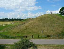 Burial mounds just outside the town of Uppsala mark the site where the kingdom of Sweden came together.