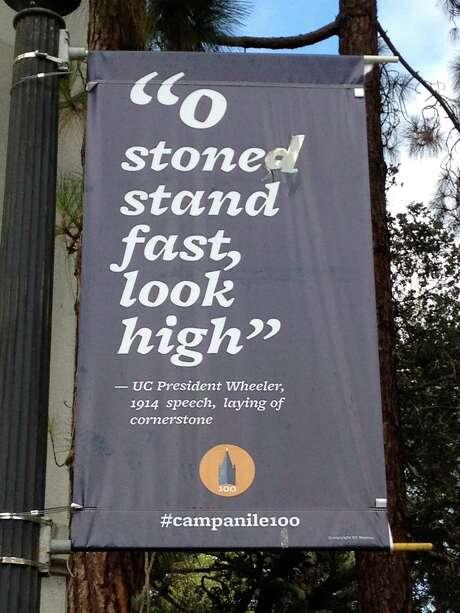 Sign at edge of Berkeley campus.