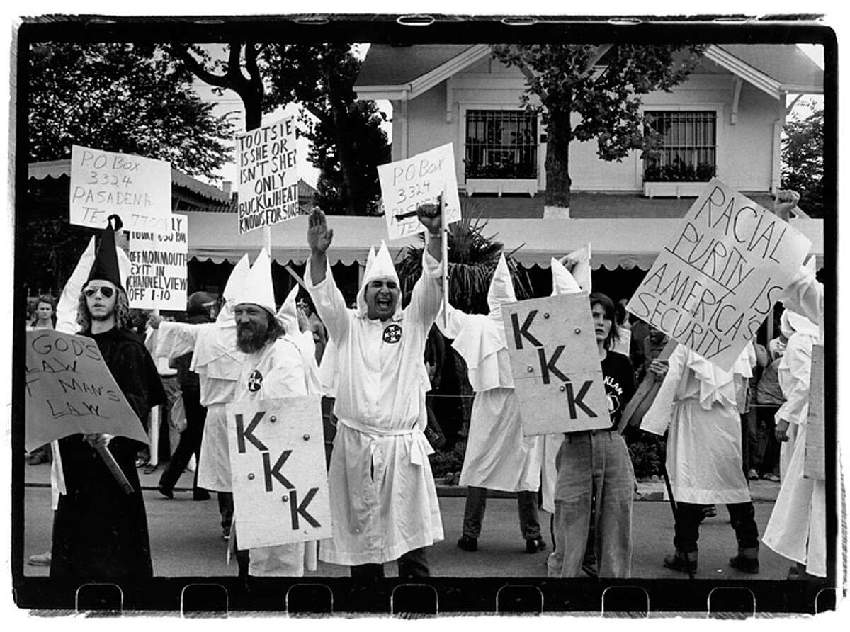 A KKK march on lower Westheimer Road.