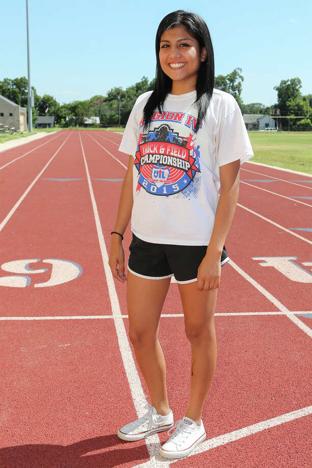Lanier's Jovana Espinoza will compete in the 17-18 years girls 1,500-  and 3,000-meter runs at the AAU Junior Olympics in Norfolk, Virginia. Photo: Marvin Pfeiffer / San Antonio Express-News / Express-News 2015