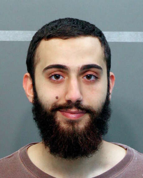 In a booking photo provided by the Hamilton County Sheriff's Office, Mohammod Abdulazeez, identified by federal investigators as the gunman who fatally shot four Marines and a Navy petty officer in Chattanooga, Tenn. on July 16, 2015. In a city of increasing diversity, Abdulazeez and his academically and professionally accomplished family seemed to be fitting in. (Hamilton County Sheriff's Office via The New York Times) -- FOR EDITORIAL USE ONLY. Photo: HAMILTON COUNTY SHERIFF'S OFFICE, HO / HAMILTON COUNTY SHERIFF'S OFFICE