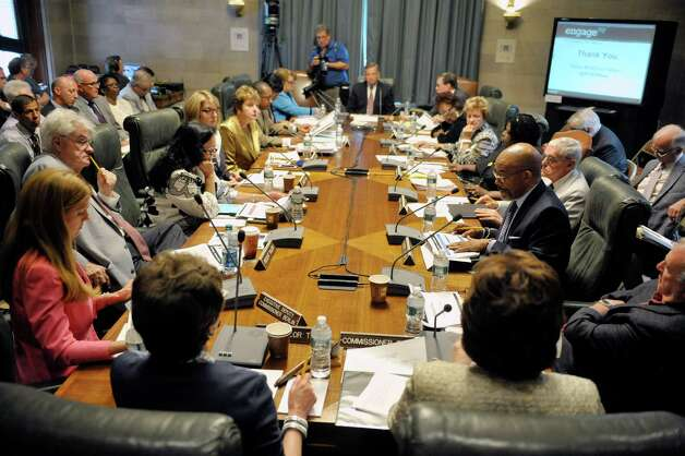 Members of the New York State Board of Regents take part in a meeting on Monday, July 20, 2015, in Albany, N.Y.   (Paul Buckowski / Times Union) Photo: PAUL BUCKOWSKI / 00032678A