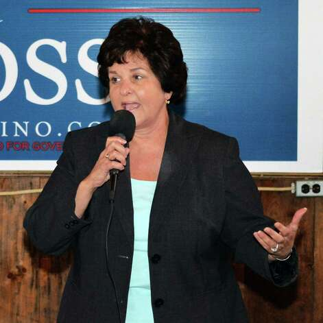 Senator Kathy Marchione speaks during a GOP rally at the Brunswick Elks Club Saturday Nov. 1, 2014, in Brunswick, N.Y.  (John Carl D'Annibale / Times Union) Photo: John Carl D'Annibale / 00029318A