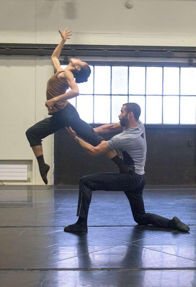 "Cora Cliburn and Ricardo Zayas in ""Reason Does Not Know."" Photo: Natalia Perez"