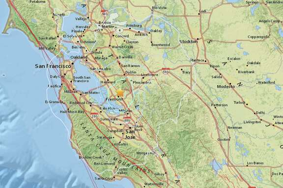 An earthquake with preliminary magnitude of 4.0 struck near Fremont on Tuesday morning.