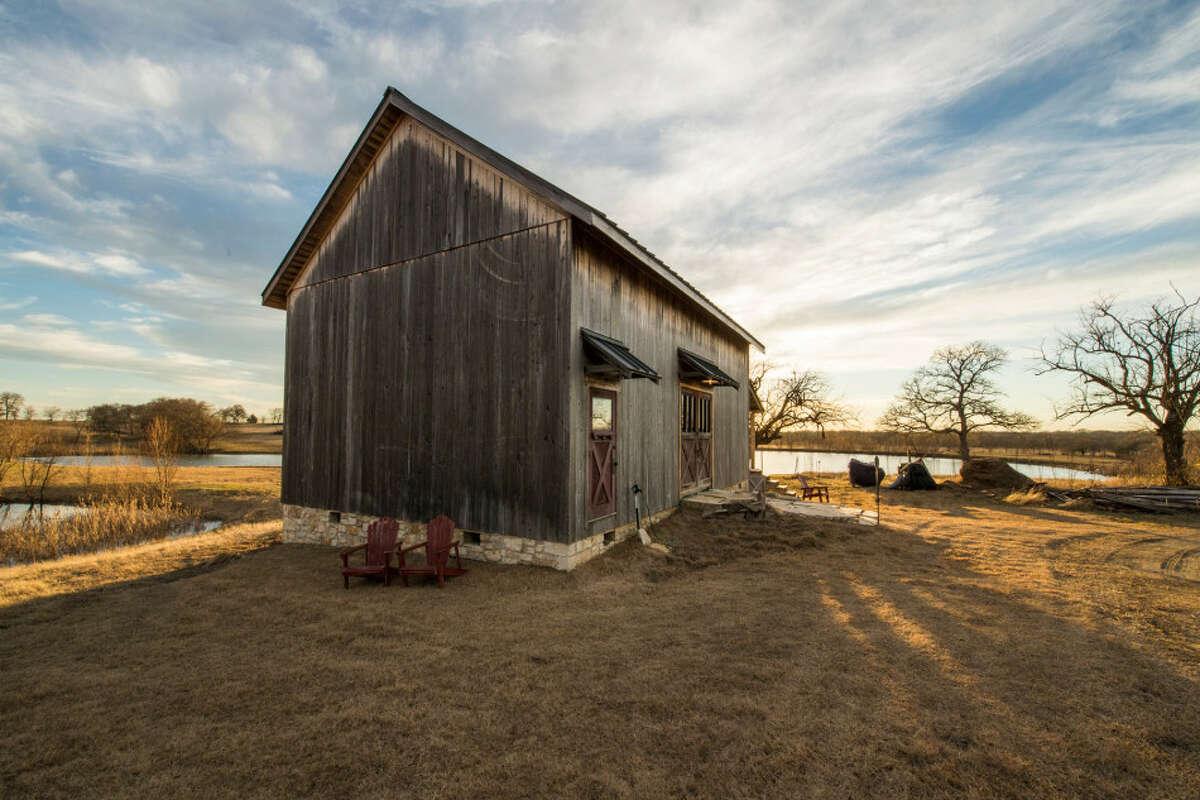 Mckinney Weekend Retreat Originally built: 1800s in Waterloo, New York Now Restored in: McKinney, Texas