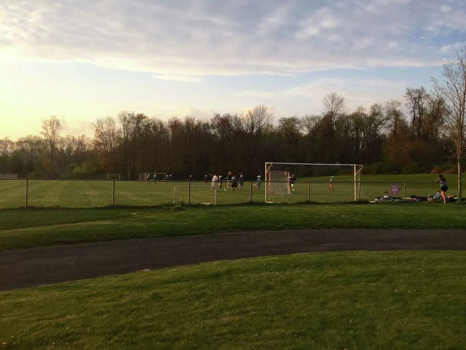 Redding officials are hoping to use a state grant to repair Field 2 at the community center. Photo: / Katrina Koerting