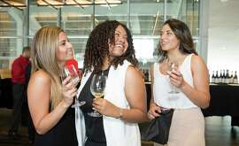 ictoria Astari, Mikaela Martin and Margie Galeano at the inaugural Silicon Valley Wine Auction on June 20, 2015.