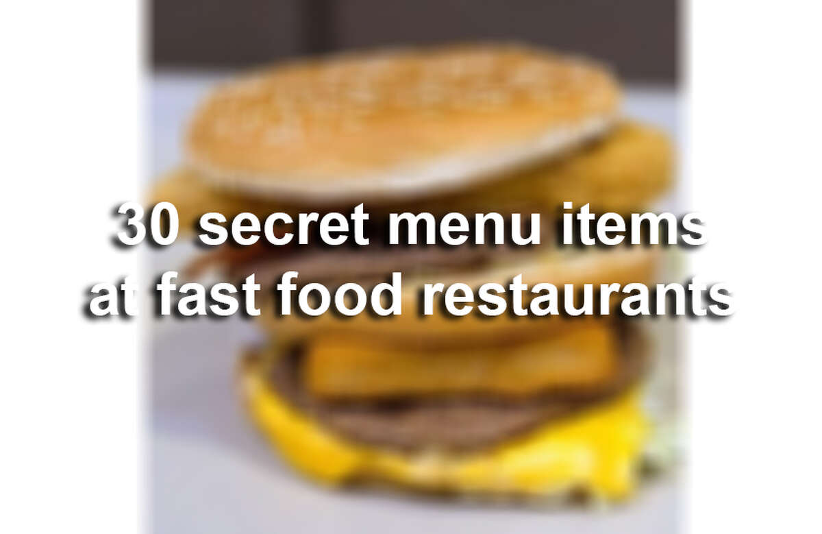 With In-N-Out now open in San Antonio, the Alamo City is finally privy to the restaurant's no-so-secret secret menu. But, lots of other fast food restaurants in San Antonio have secret menus too! Secret menu items are regular fare with additional ingredients, or a whole 'nother offering composed of ingredients that the restaurant already has on hand. Sources: HackTheMenu.com and SpoonUniversity.com.