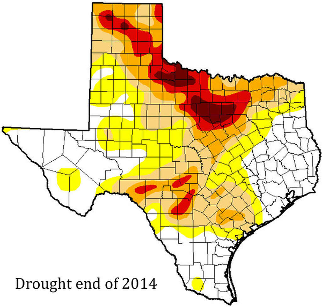 Historic Texas Drought Over Zero Texans Impacted By Drought - Us drought map latest