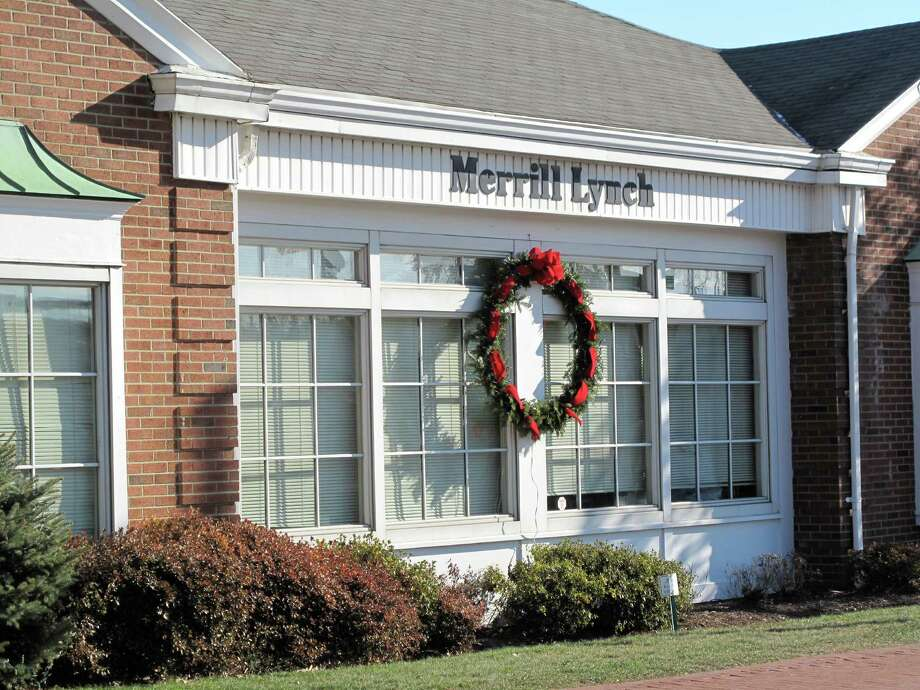 The Merrill Lynch office in New Canaan Photo: File Photo / New Canaan News