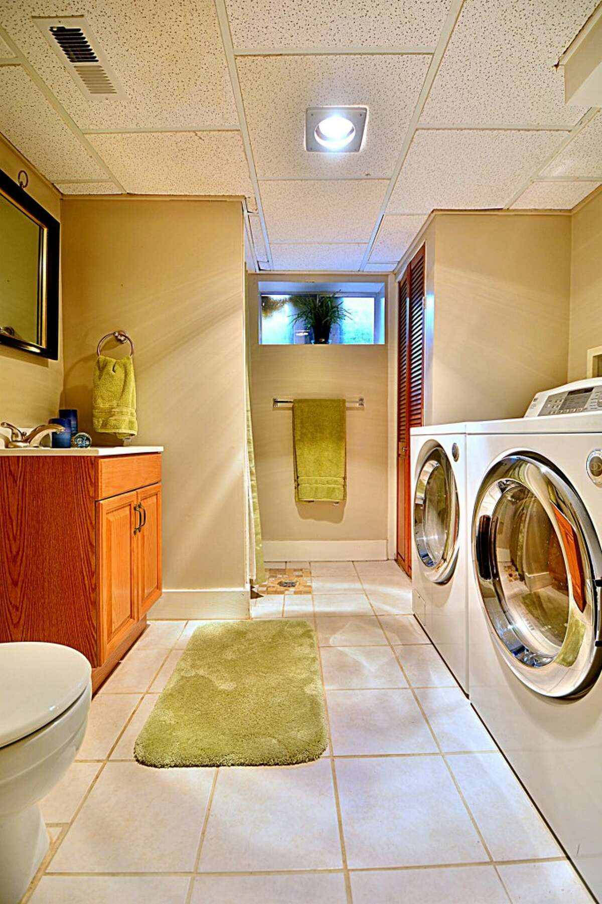 The laundry room in 837 N.E. 105th St.