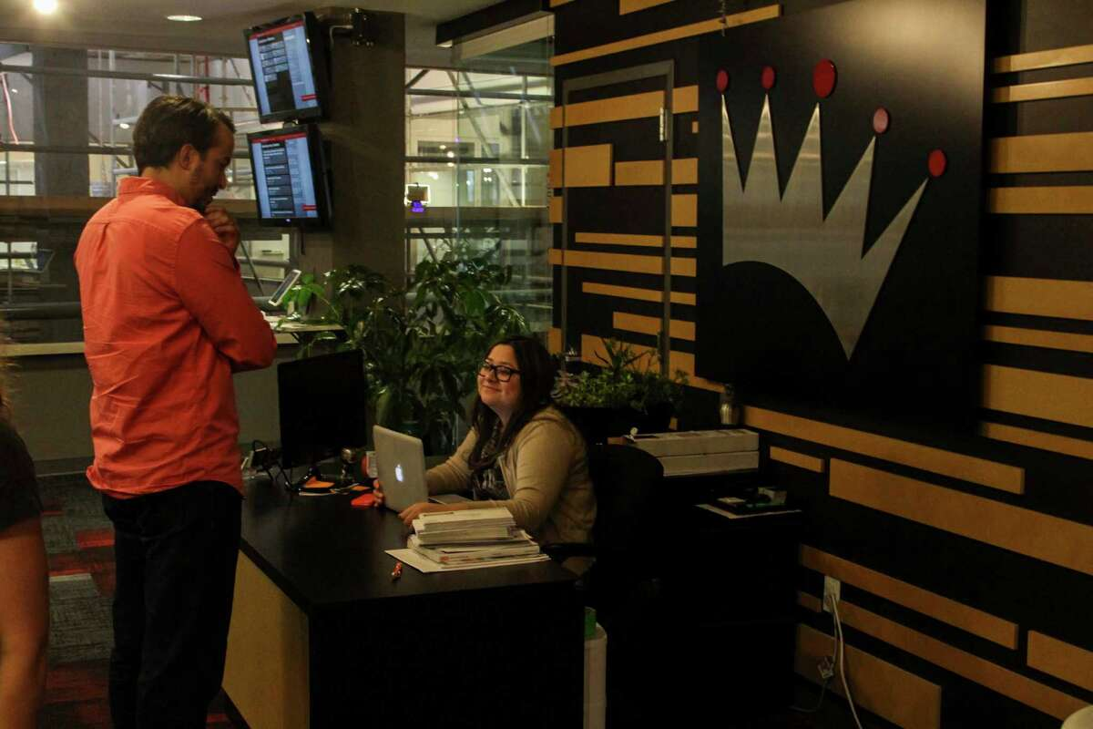 Geekdom offers a variety of workspaces for its employees and members.