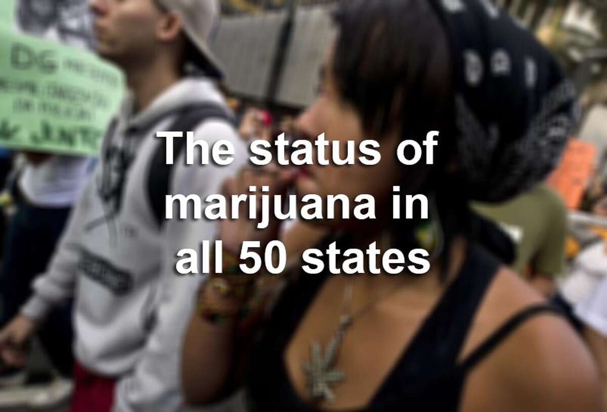 Scroll through the gallery to see the legal status of marijuana in each U.S. state. Source: NORML, NCSL, Washington Post
