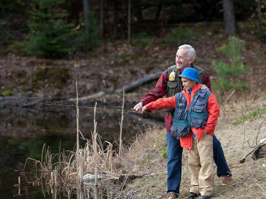 The Whiteface Lodge in Lake Placid, N.Y. can help combine fishing pursuits with canoeing, hiking and rock climbing for an active family holiday. / Whiteface Lodge