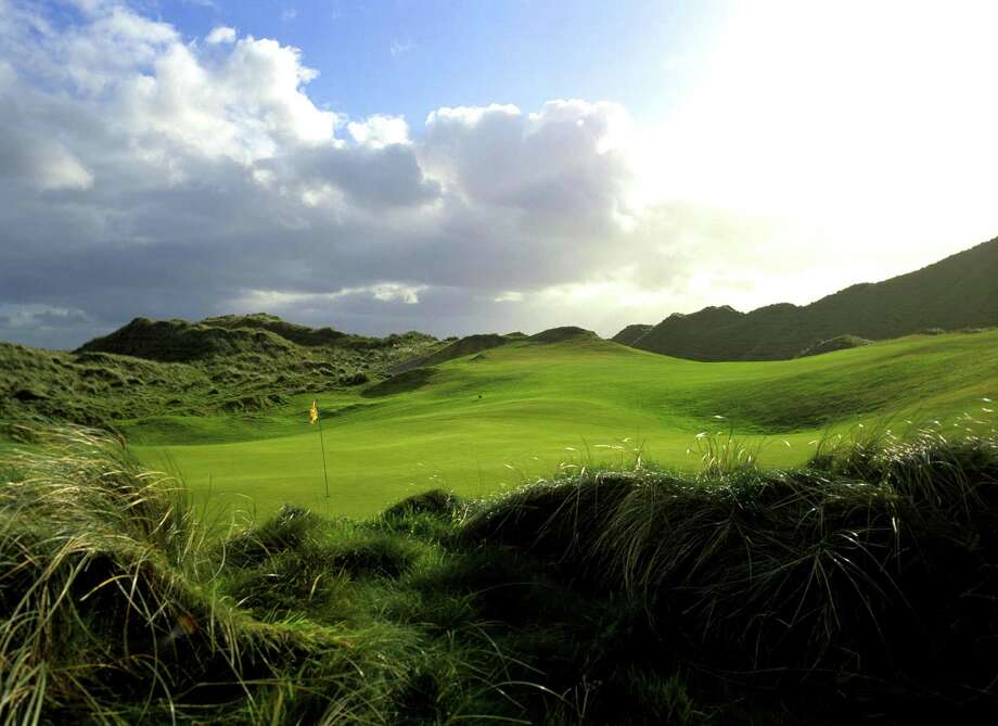 Carne is one of Ireland's most unsung links courses, and rests on one of northwest Ireland's most westerly spits of land. Photo: HANDOUT, STR / THE WASHINGTON POST