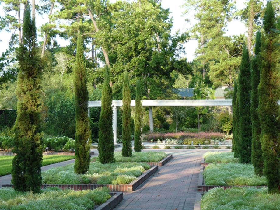 Mercer Is Creating Formal Renaissance Garden Houston Chronicle