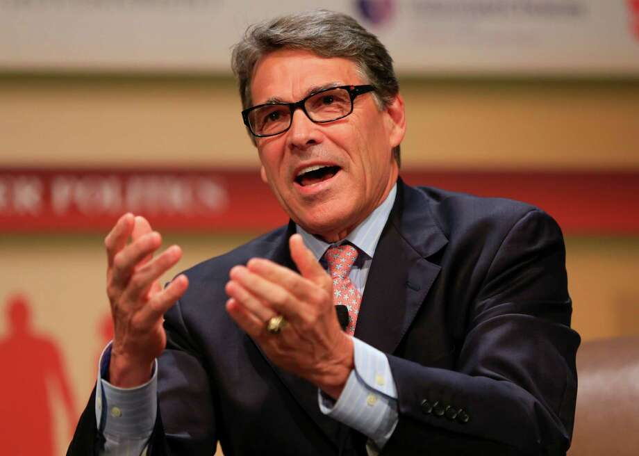 Republican presidential candidate, former Texas Gov. Rick Perry, shown in a file photo from July 18, 2015, will face one criminal count in an abuse-of-power case, but another count was dismissed by the 3rd Court of Appeals in Austin on Friday, July 24, 2015. Photo: Nati Harnik /Associated Press / AP