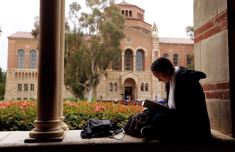 Students at UCLA and other California colleges are getting a reprieve from threatened tuition increases. Photo: Al Seib / Al Seib / Los Angeles Times / 2015 Los Angeles Times