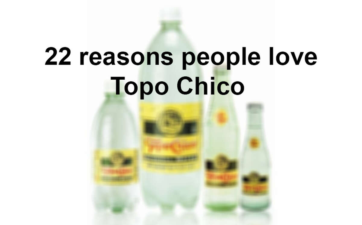 Thanks to a little help from Topo Chico Instagram photos, it's not hard to find the 22 reasons people are so dedicated to this drink.