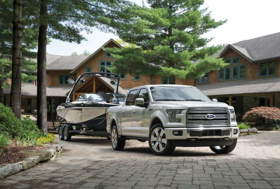 Ford is introducing a new Limited Edition of its popular line of F-150 pickup trucks. Highlights include 22-inch wheels, Mojave leather interiors, redesigned instrument panels and a 3.5-liter EcoBoost V6, which allows for towing of up to 10,100 pounds. Photo: Ford Motor Company