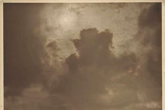 "Worden_seascape_PC_FAMSF.jpg Caption: Willard E. Worden, ""Seal Rocks,"" ca. 1915. Sepia-toned gelatin silver print. Collection of Susan Hill. Credit: Fine Arts Museums of San Francisco"