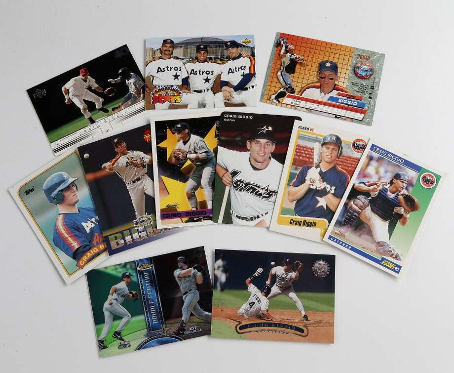 Astros All Time Lineup Based On Their Baseball Cards Houston